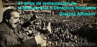 31 años de Democracia y Derechos
