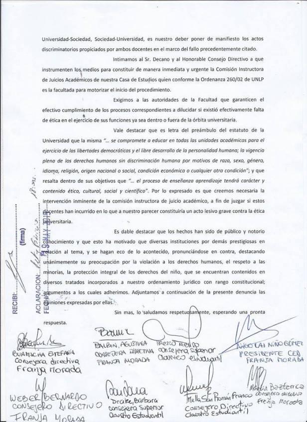 Franja Morada repudio2
