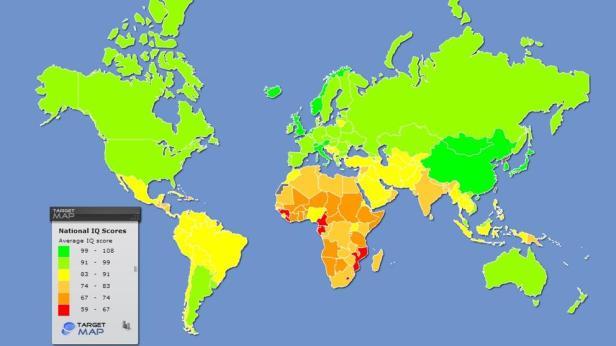 IQ paises