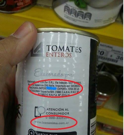 tomates importados